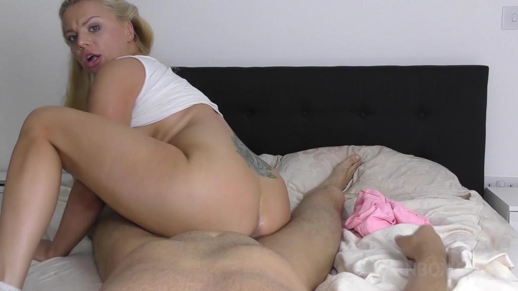 Elizabeth Romanova got caught wanking and fucked by stepdad OTS235
