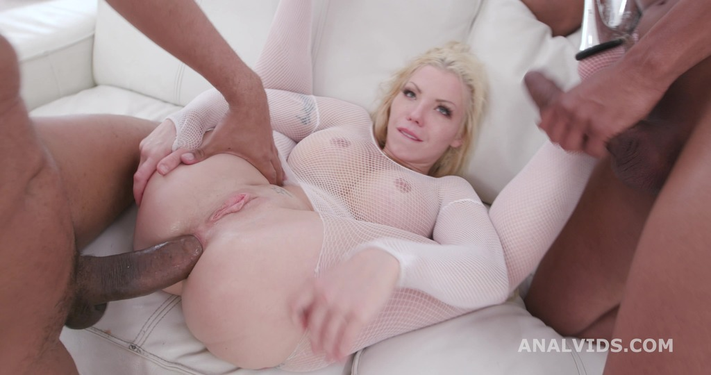 Barbie Sins Balls Deep Anal with 2 BBC Gapes, Dirty Talking, Anal Fisting, DAP, Butt Rose, Creampie GIO1479