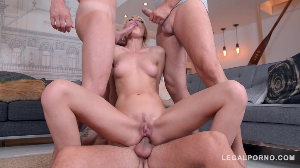 Kimber Delice's foursome fantasies come true