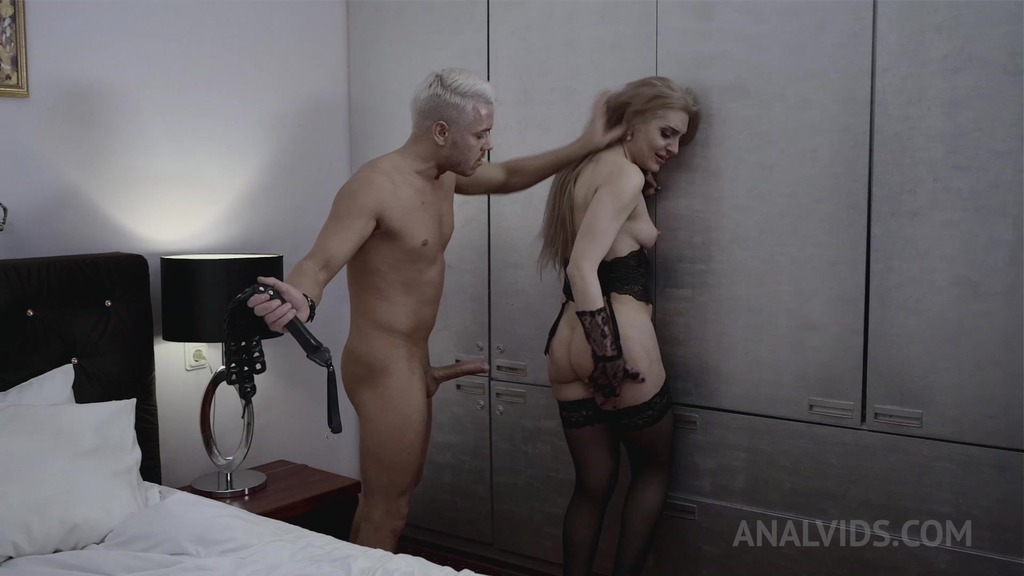 Hard BDSM With Caty Kiss! anal fisting! OTS510