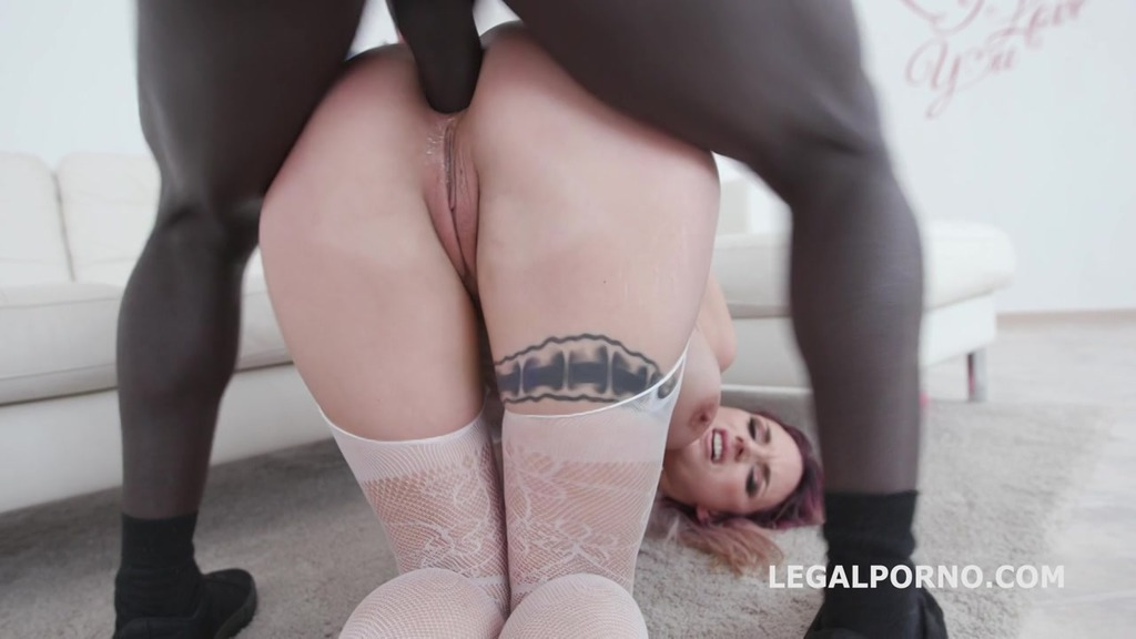 Blackbusters Marie Clarence gets 3 BBC with Intense Balls Deep Anal and DP, Gapes, DAP, messy cumshot GIO1010