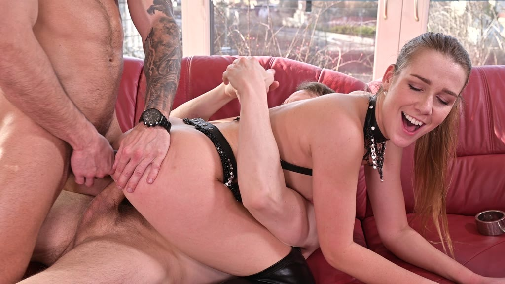 Alexis Crystal BDSM DP Punishment by Two Masters GP1878