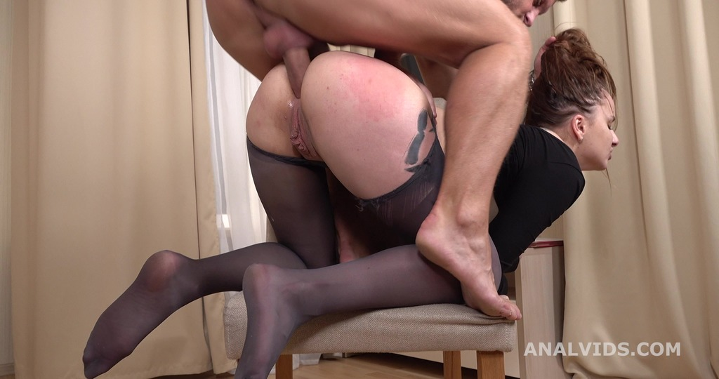 Mr. Anderson's Anal Casting, Alexa Crow Welcome to Porn with Balls Deep Anal, Gapes and Cum in Mouth GL300