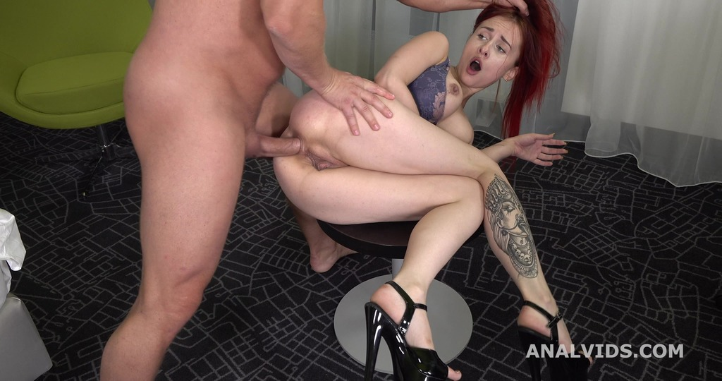 Mr. Anderson's Anal Casting, Riana Bang Welcome to Porn with Balls Deep Anal and Cum in Mouth GL265