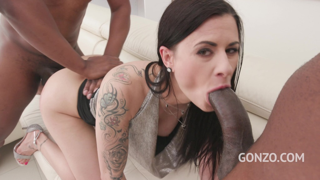 Billy Star gagbanged by 5 guys with Airtight DP & double anal SZ2439