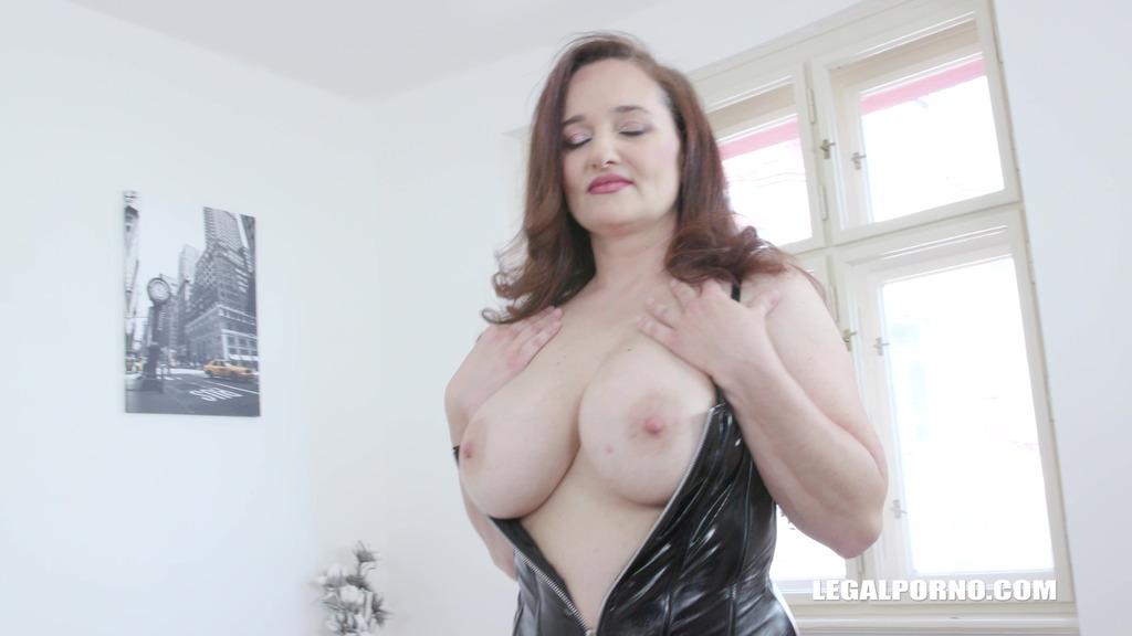BBC anal fun with busty MILF Amelie IV497