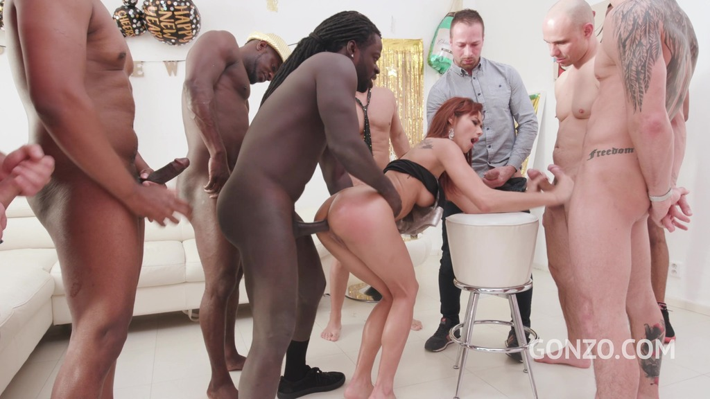 LP's top model Veronica Leal gets anal gangbanged for you to celebrate new...