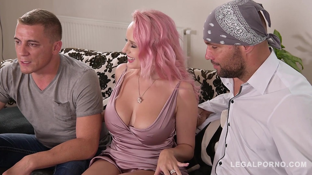 Double Penetration of Busty Babe Angel Wicky Leads to Intense Squirting...
