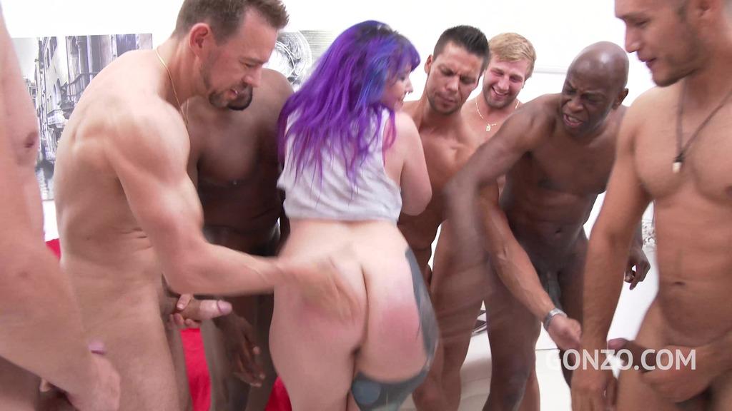 Proxy Paige anal gangbang SZ1827