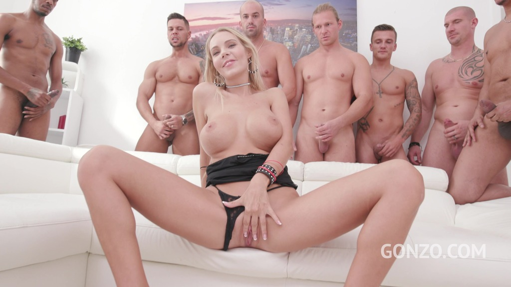 All Anal Gangbang for Florane Russell
