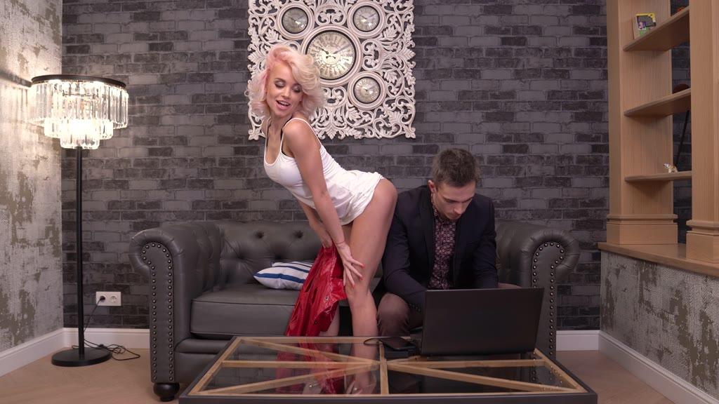 Unbelievable Ukrainian Has Handyman Hammer Her Ass While Her Husband is Working GP1822