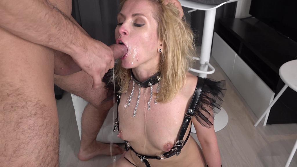 First Time on AV Alika Alba - Pissing, Drinking, Squirting - Hard Anal Fuck VK074