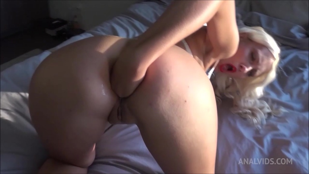 Anal fucking and fisting by the window with young blonde slut Helena Moeller OTS006