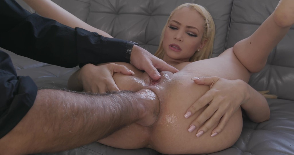 """Natasha Teen Testing The Handmade """"Impaler"""" Size L (With Additional Anal Fisting) TWT032"""