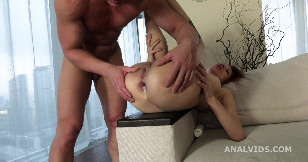 My First DP, Vicky Golden 2on1 Balls Deep Anal, DP, and Cum in Mouth GL260