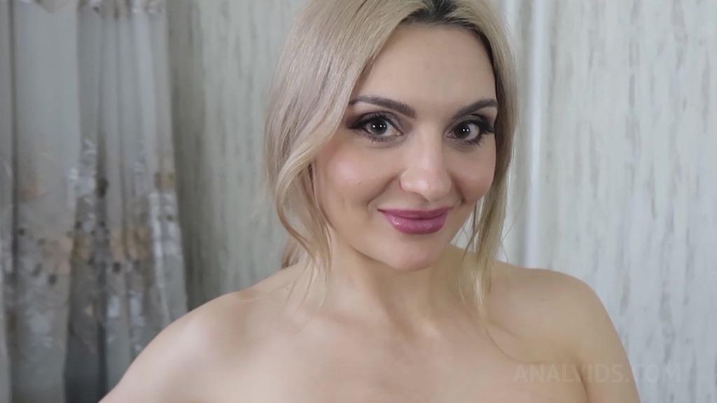 Slutty blonde Caty Kiss fucks her perverted neighbour OTS151