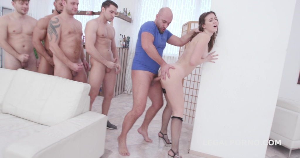 Monster of DAP Alessandra Amore 5on1 DAP / TP with Balls Deep Anal, DAP, TP, ATM, Gapes, Creampie Swallow GIO1339