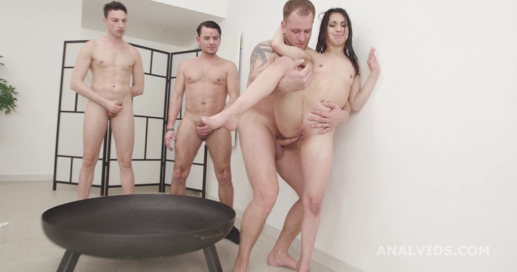 Francesca Palma 7on1 Balls Deep Anal, DP, DAP, Squirting, Gapes, Almost ButtRose and Swallow GIO1786