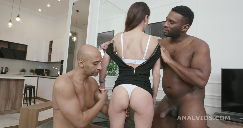 Ivy Wild Vs 2 BBS with Balls Deep Anal, DP, Gapes and Cum Swallow GL377