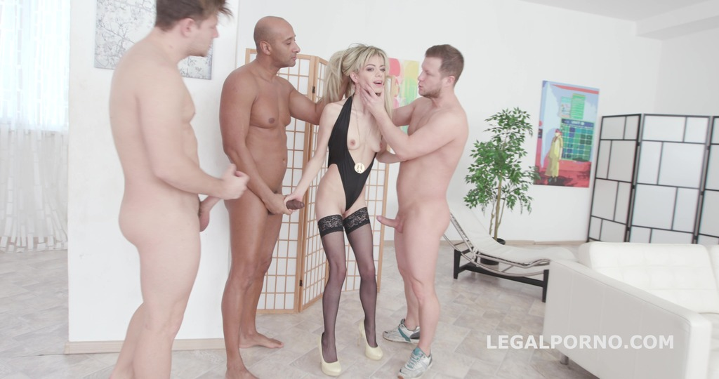 Ciara Riviera gets rough Balls Deep Double Anal