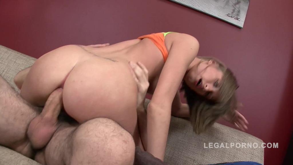 Teen slut Melany assfucked by Gio NR208