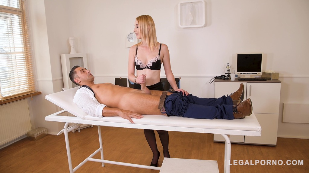 Sex Doctor Amaris takes patient's big ass dick for a ride GP749