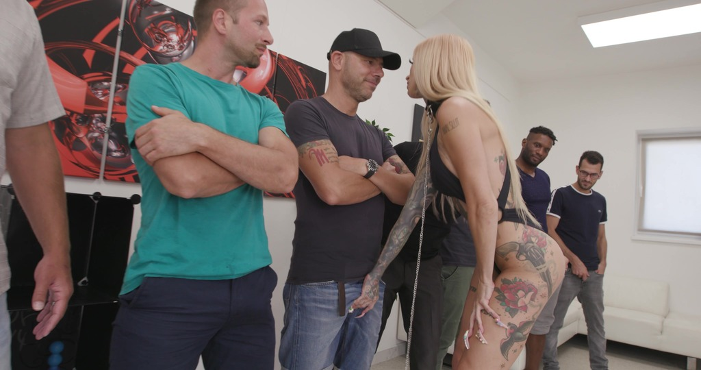 Sasha Beart is Unbreakable #1, 4on1, DAP, Rough Sex, Gapes, ButtRose, Creampie Swallow GIO1913