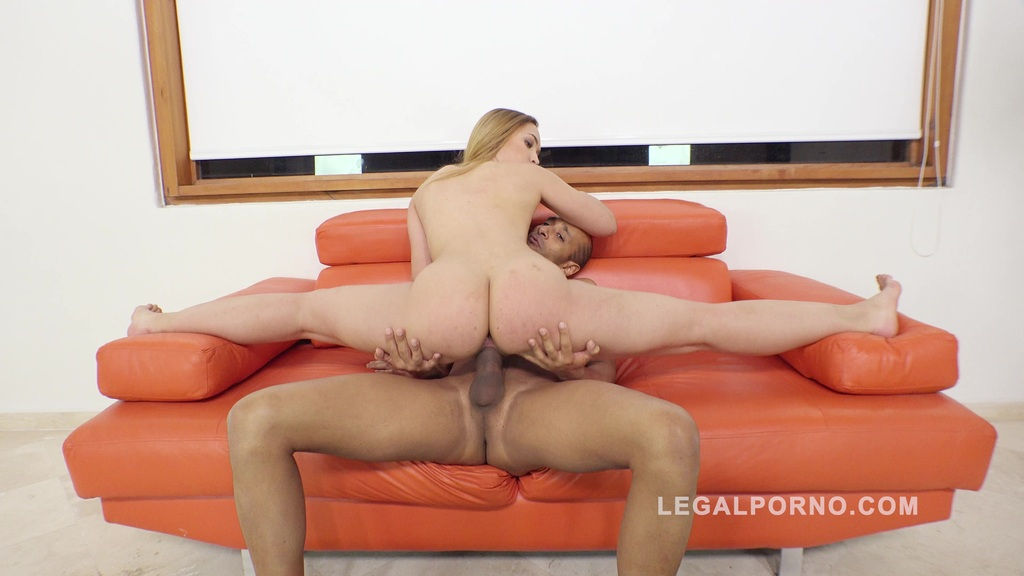 Briana Bounce first anal with 2 guys