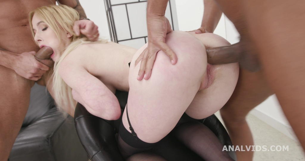 Sweetie Plum 2on1 Balls Deep Anal, DP, Gapes and Swallow GL394