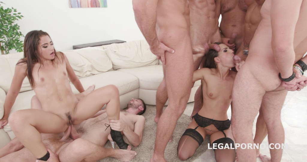 Simply Beautiful #2 Kristy Black & Avi Love Balls Deep Anal, DAP, GAPES,...