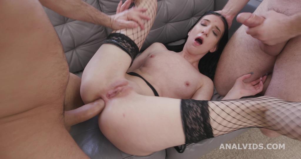 My First DP, Ava Harris Balls Deep Anal, DP, Rough Sex and Swallow GL404