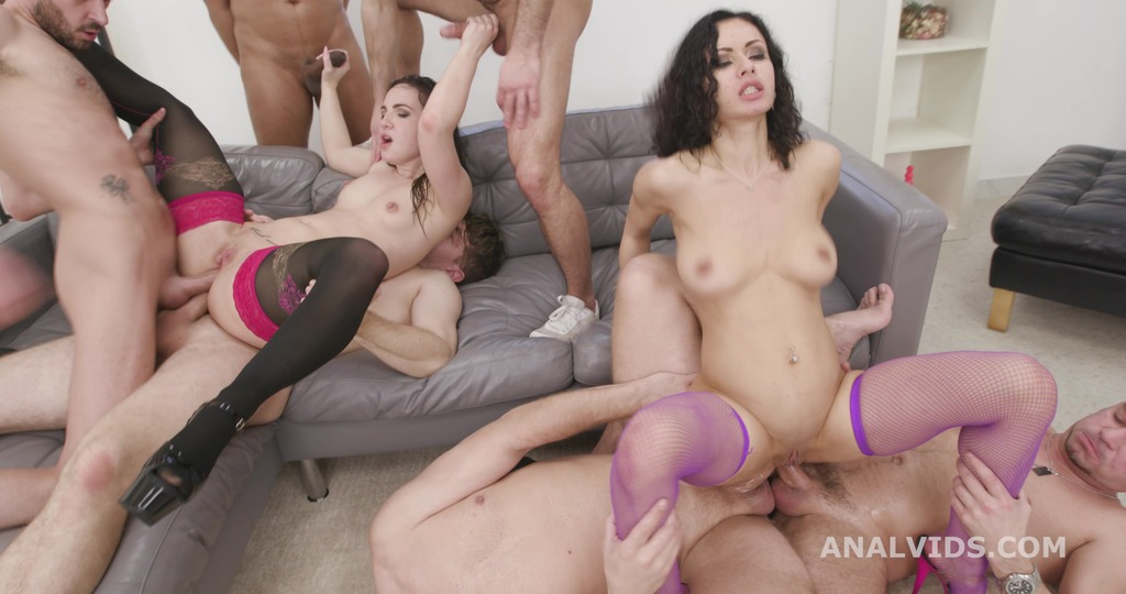 So Yummy and Wet #2 Kristy Black and Stacy Bloom 6on2 Balls Deep Anal, DAP, ATOGM, Gapes, ButtRose, Pee Drink, Squirting GIO1788