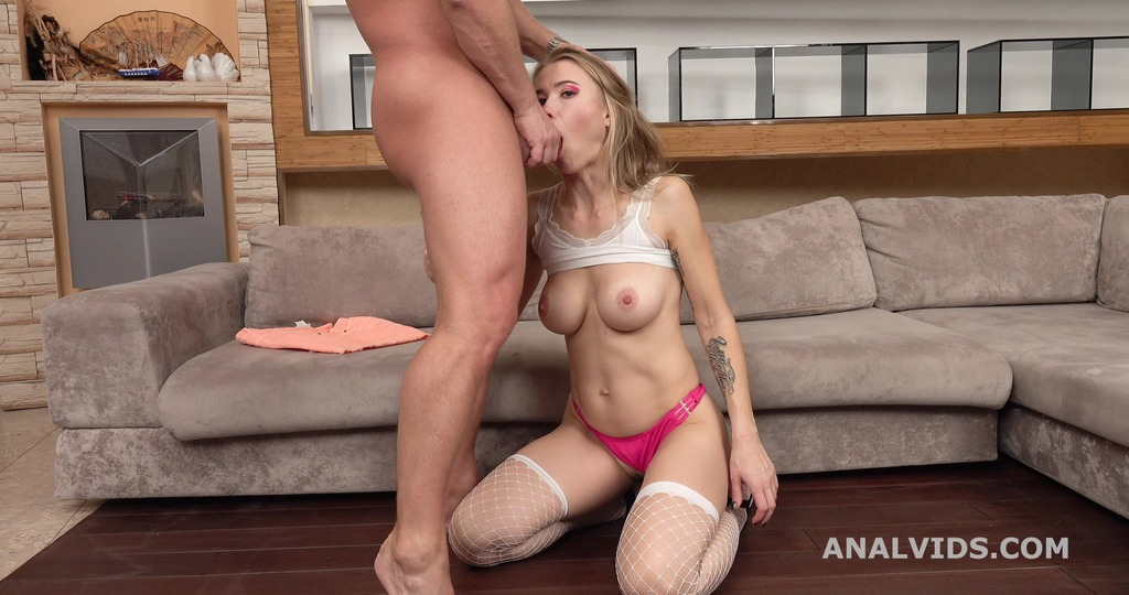 Mr. Anderson's Anal Casting, Engel welcome to Porn with Balls Deep Anal, Gapes and Cum in mouth GL329