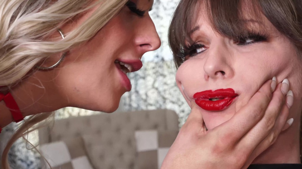 Jamie French gets used and abused by a very dominating Cherry Maverick! OTS733