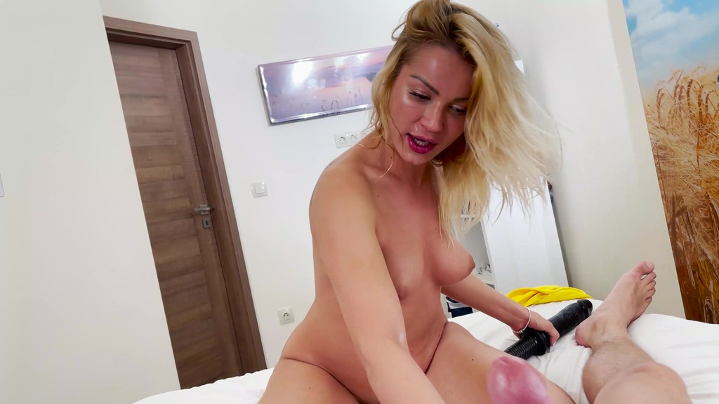 Cherry Kiss POV anal and Massive black Toy squirting CK020