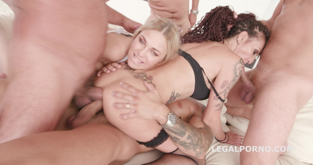 Gapes'n'Roses Lyna Cypher Vs Selvaggia Balls Deep Anal / ATOGM / Gapes /...