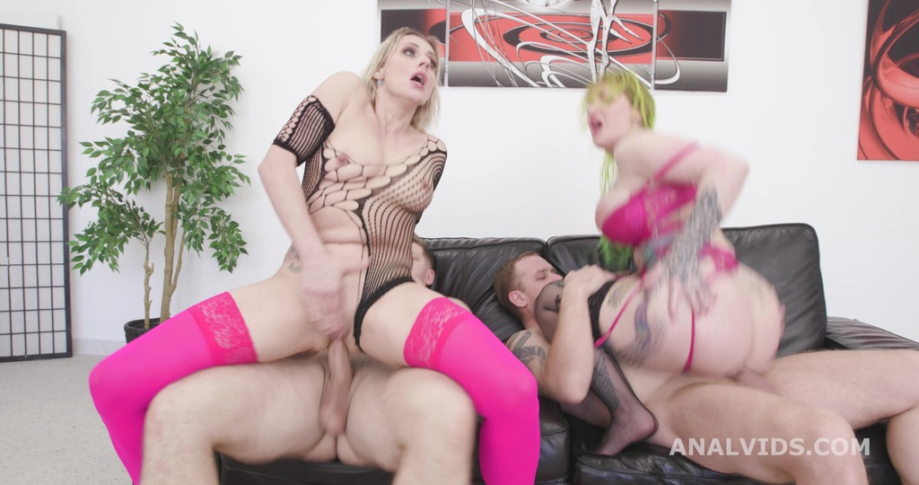 Wild as Fuck #1, Brittany Bardot & Alexxa Vice with Anal, DAP, Gapes, Monster Buttrose, Pee Drink, Anal Fisting GIO1803