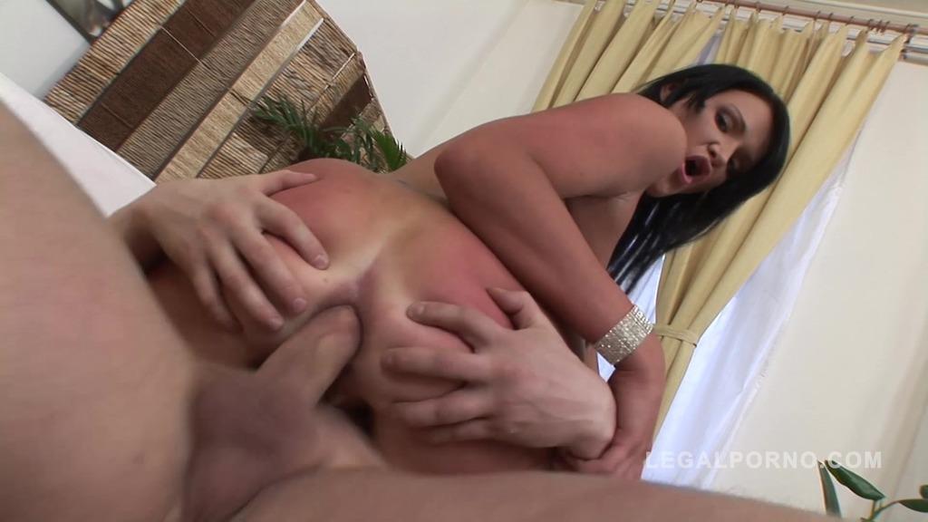 Russian PAWG Kitty Black anal sex video NR215