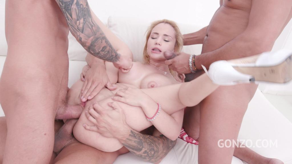 Natasha Teen balls deep fucking 3on1 with DP & DAP SZ2157
