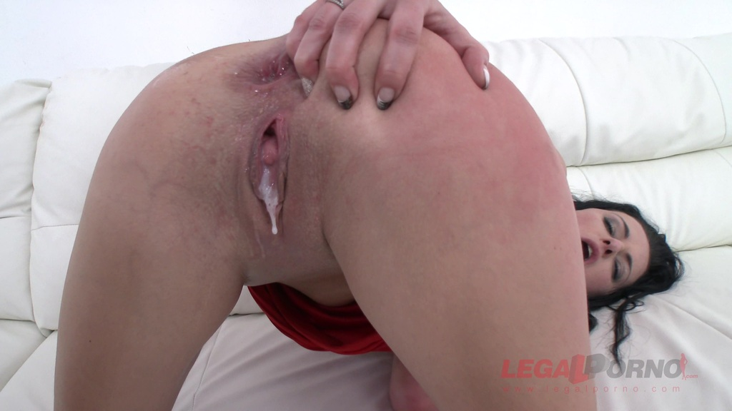 Anny Max 3on1 Airtight DP MILF anal
