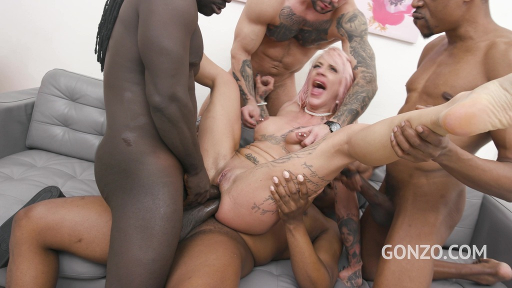 Harleen Van Hynten Anal and DAP 5on1 with 0% Pussy Fucking SZ2634