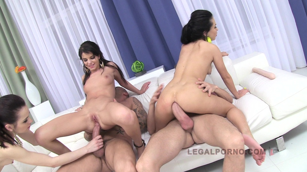 Sandra Luberc, Jessica Swan & Ashley Woods triple stacked