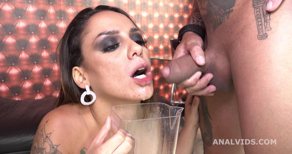Barbara Alves 5on1 Balls Deep Anal, DP, DAP, pee and cum in mouth GL378