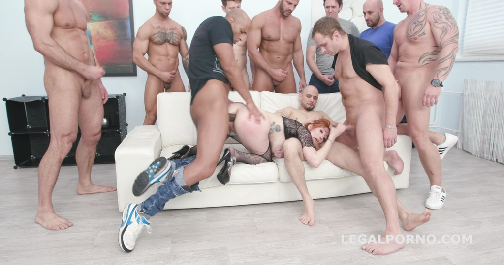 10on1 TP Gangbang with Lauren Phillips with Balls Deep Anal, DAP, TP, Gapes,...