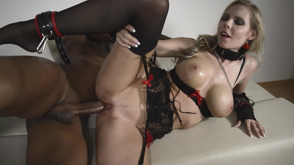 BDSM slut Florane Russell Anal Hooked and ass fucked OTS328