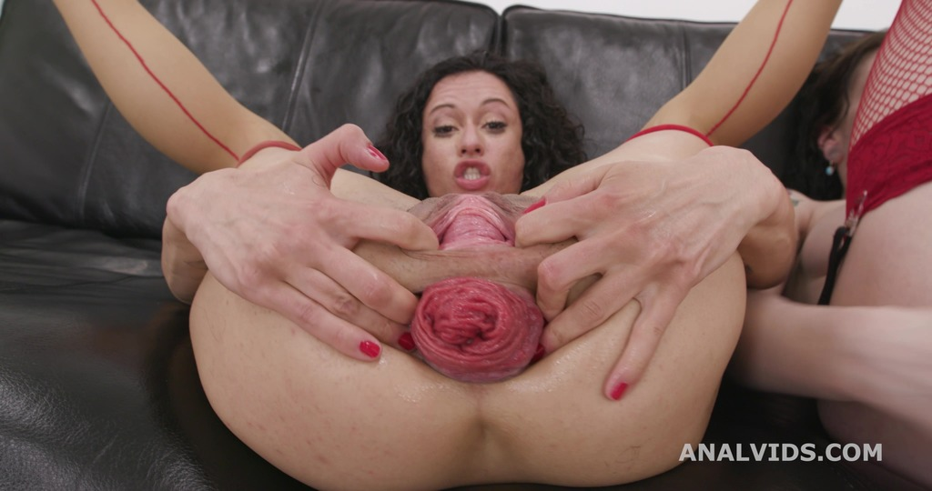 Pee and Roses #1 , Stacy Bloom & Anna de Ville, Anal Fisting, DAP, Big Gapes, ButtRose, Pee Drink, Creampiee Swallow GIO1852