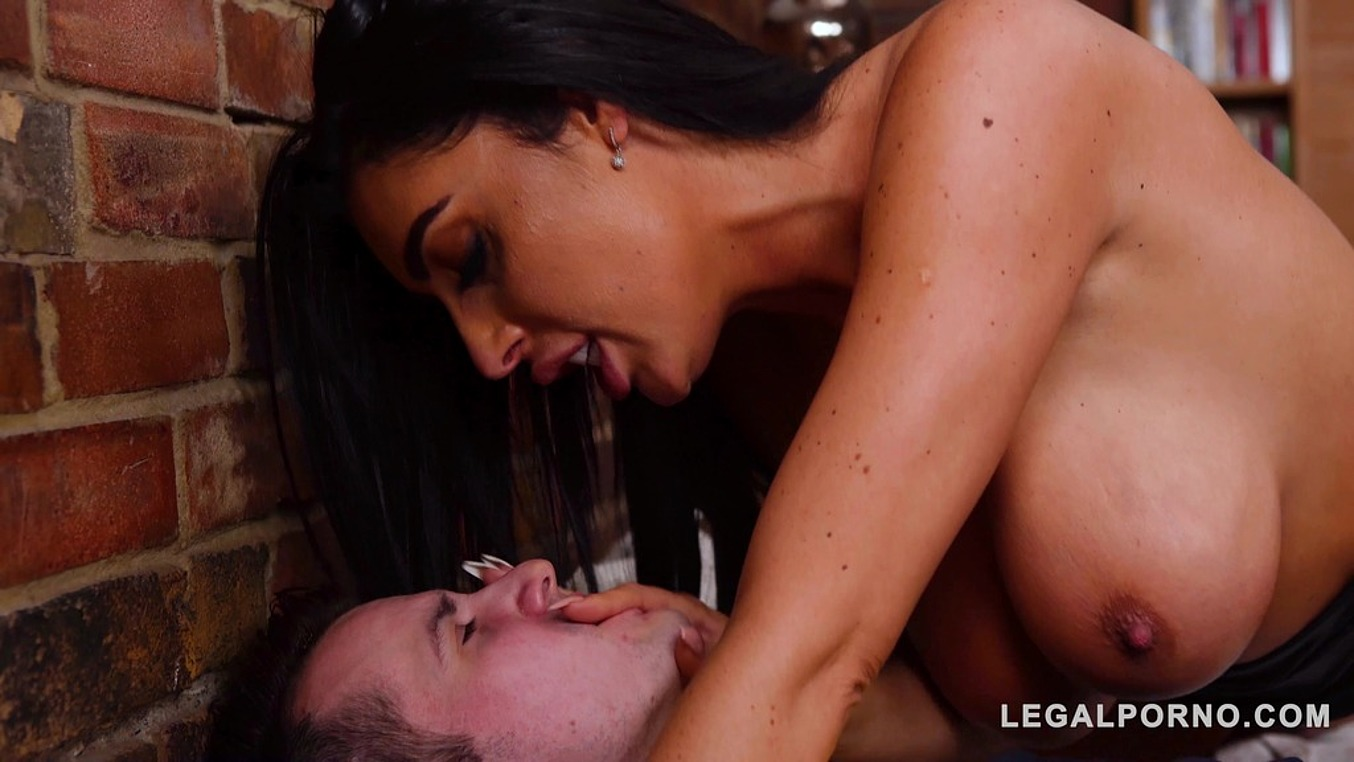 Busty stepmom Ava Koxxx squirts on stepson with girlfriend Kylie Nymphette GP887