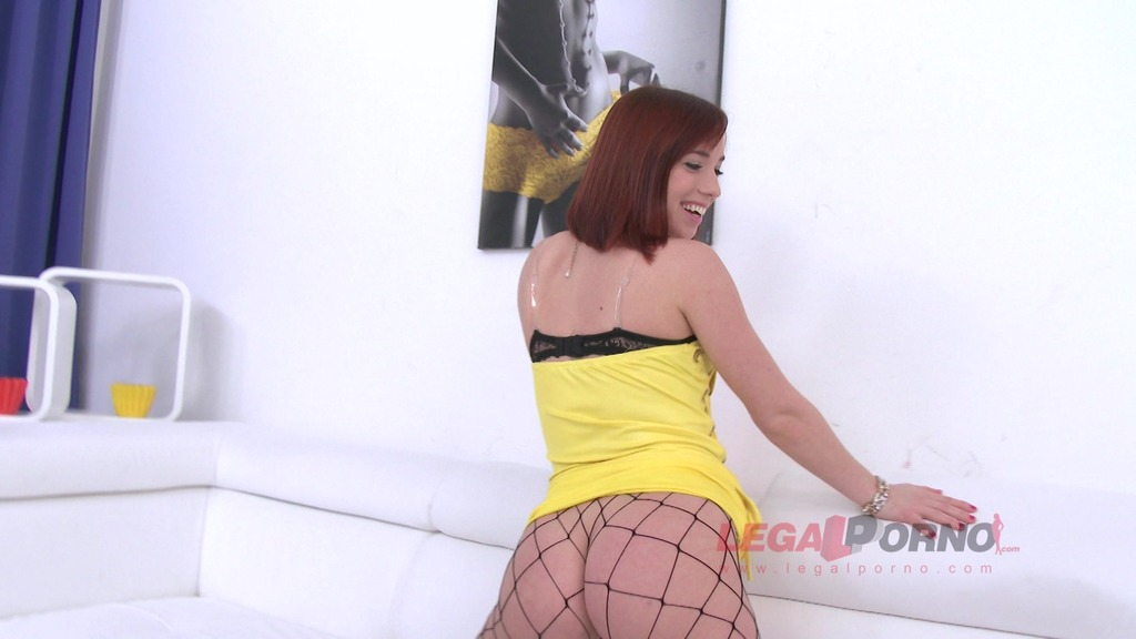 Piss drinking slut Tina Hot assfucked, DP'ed & pissed all over SZ723