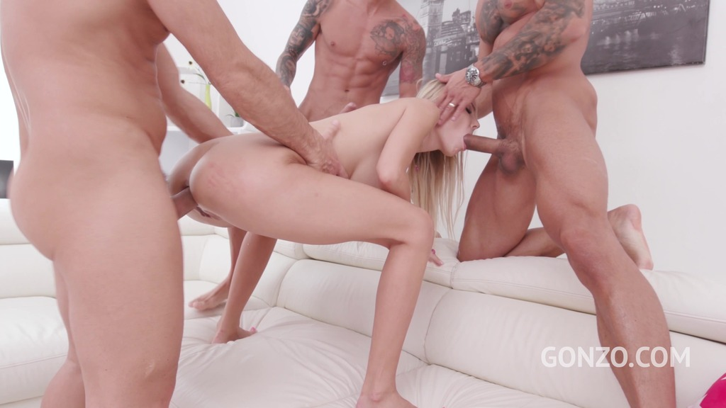 Florane Russell anal fucking 3on1 with DP & Gapes SZ2208