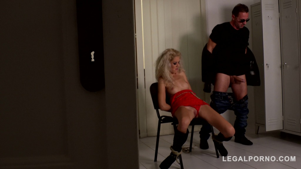 Monique Woods Humiliated & Fucked in the Locker room